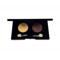 Palette 2 ombres à paupières Chocolat - Ivoire 2 x 2g (sans étui)