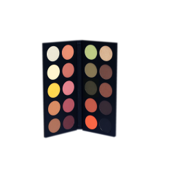 20 eyeshadows palette Warm harmony
