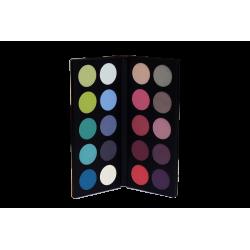 20 eyeshadows palette Cold harmony