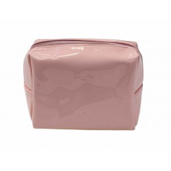 Trousse make up rose gold vide