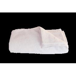 Serviette éponge blanche 50x90