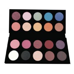 Palette 20 fards tons mixtes