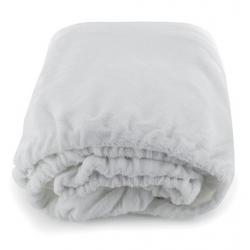 Housse de lit blanc