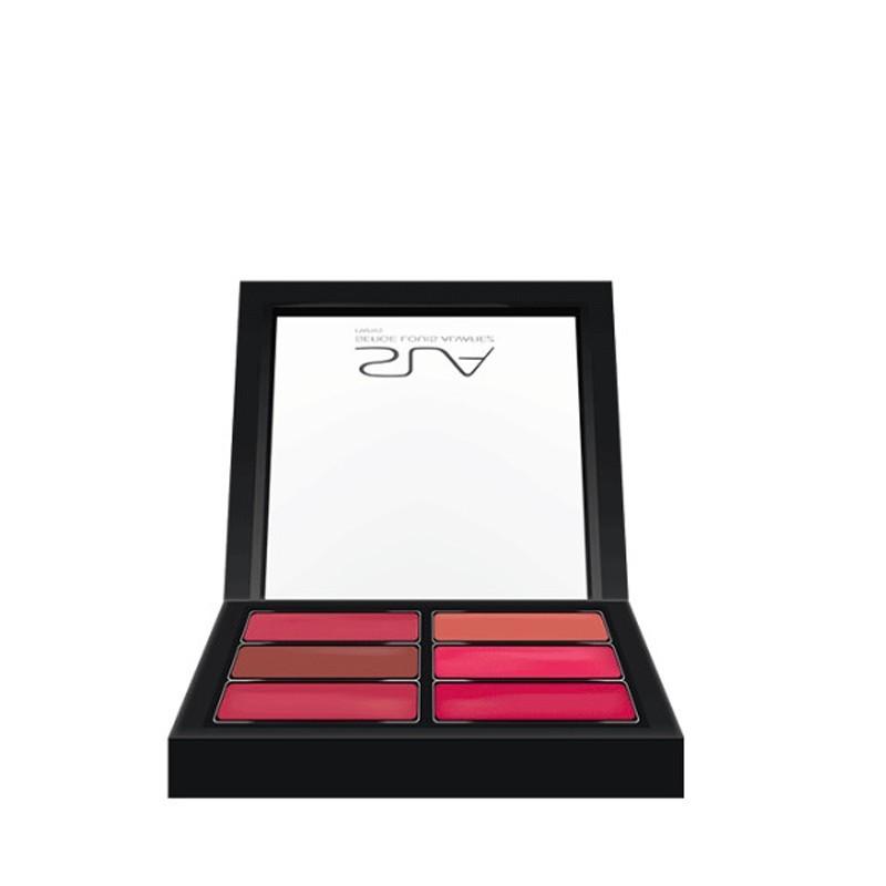 Palette artist pro 6 rouges à lèvres