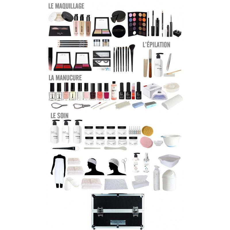 Kit CAP maquillage - soin - petit matériel