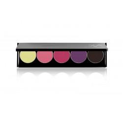 Palette luxe 5 rouges à lèvres