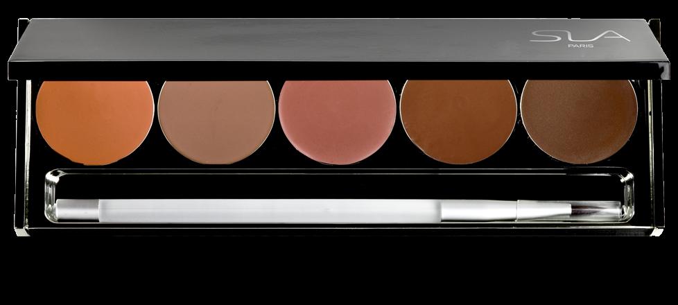 Palette 5 rouges à lèvres Pro & Luxe