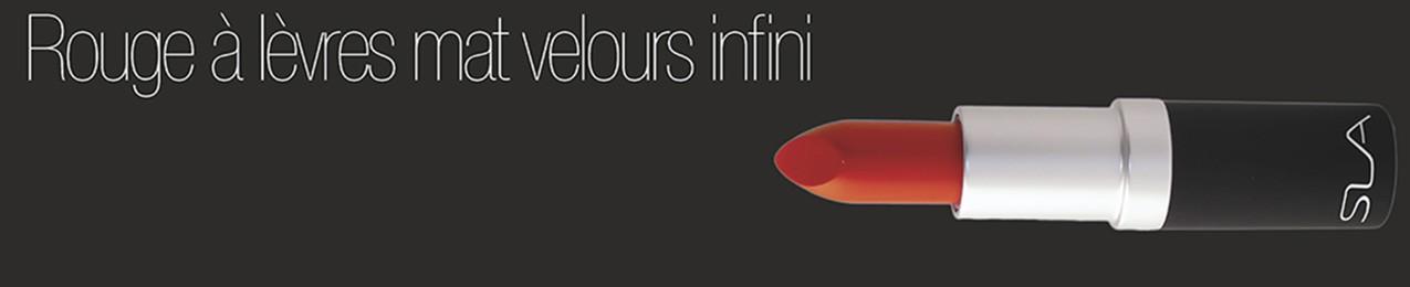 Rouge à lèvres Mat velours infini